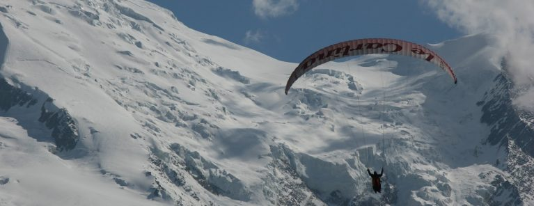 Peak Transfer | Chamonix Paragliding with Chamomix Air Sport