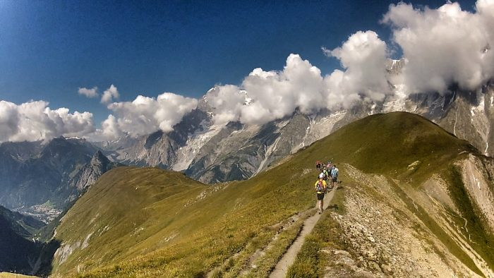 Peak Transfer Chamonix Trail Running