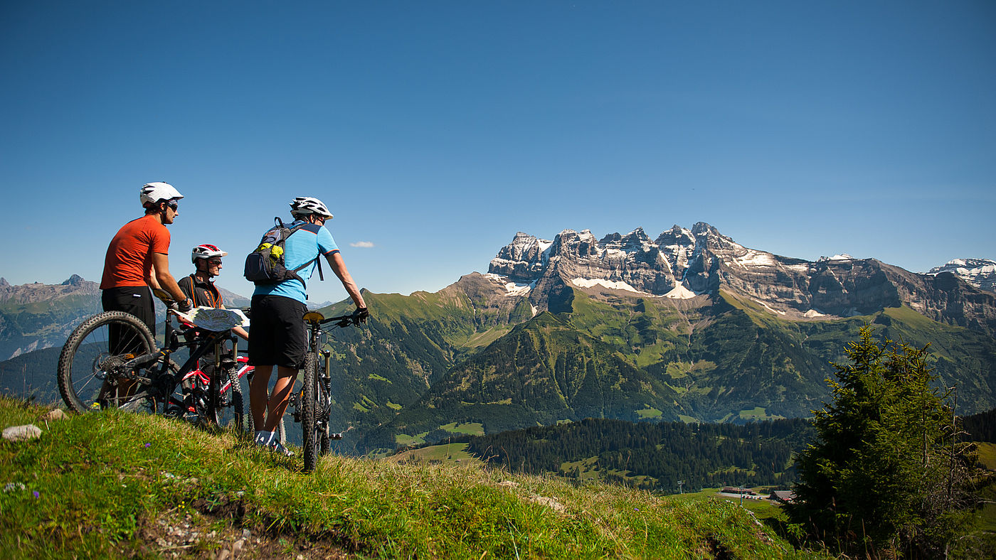 Morzine and Portes du Soleil have the biggest mountain bike park in Europe