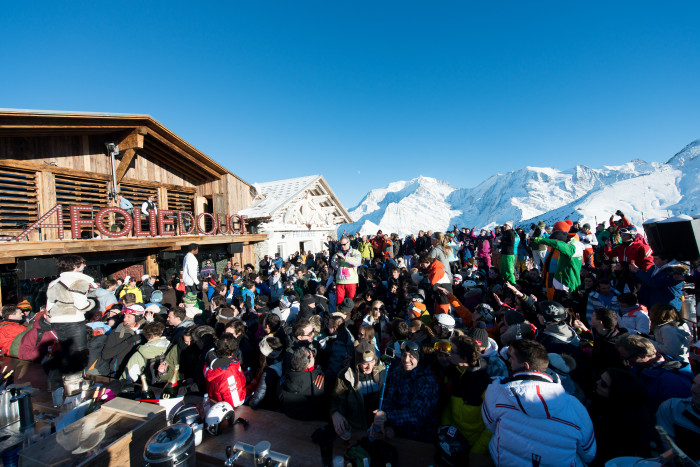 Folie Douce in Saint Gervais is great for Apres on the Mountain