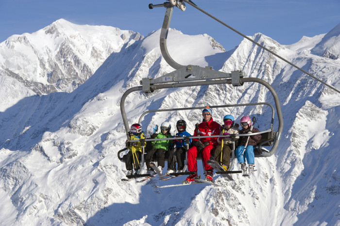 Les Contamines is a charming alpine village ski resort for all the family
