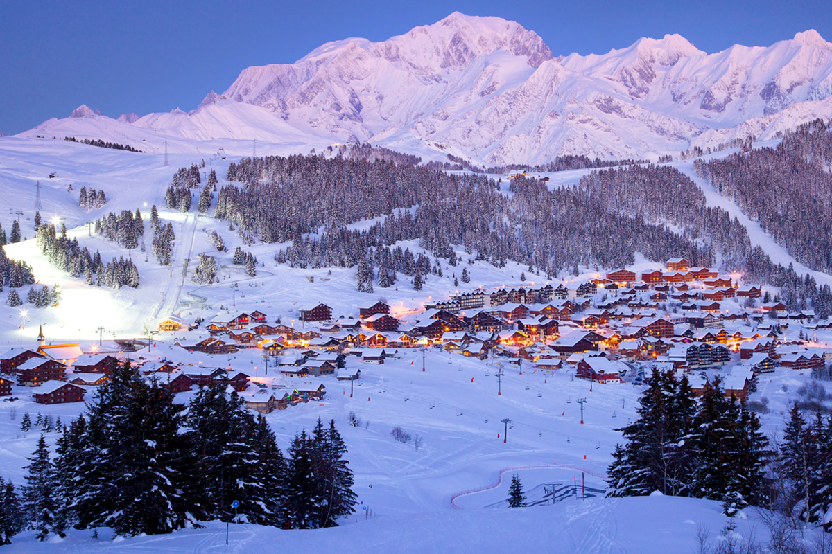 There is beautiful skiing to be found in Les Saisies